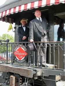 Teddy visits the Strasburg RR